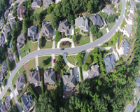 Residential Real Estate Aerial Property Marketing