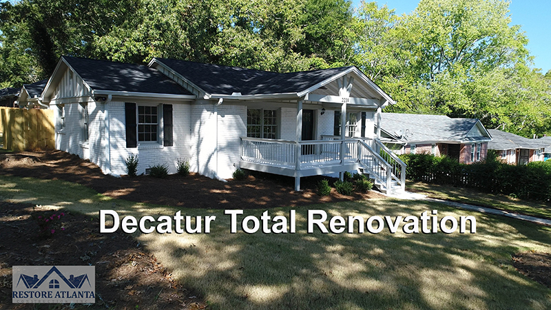 DECATUR GEORGIA TOTAL RENOVATION