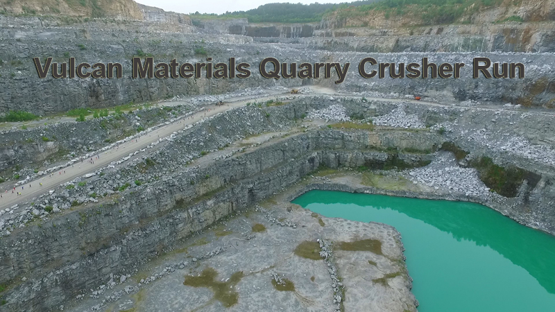 QUARRY CRUSHER RUN DRONE VIDEO